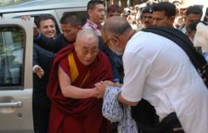 with dalai lama