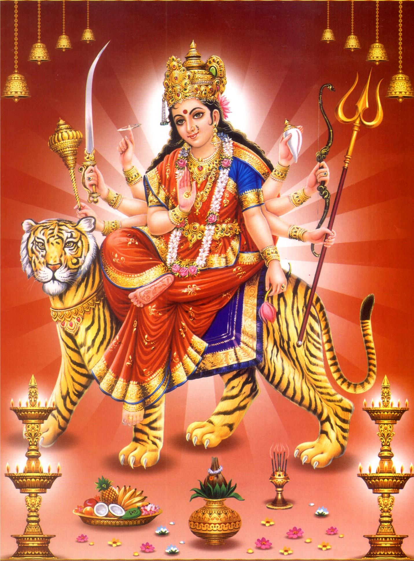 नवरात्र पर विशेष- दुर्गा के नौ रूप