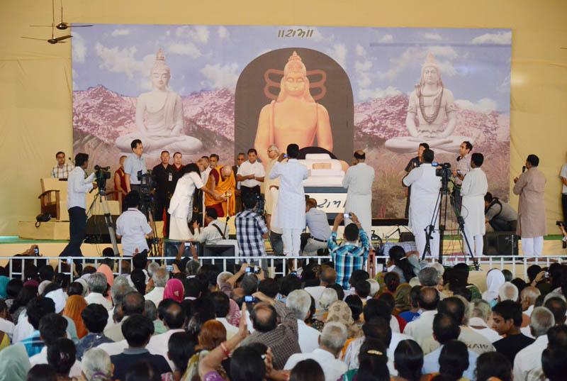 morari bapu & Dalai Lama in Dharmshala